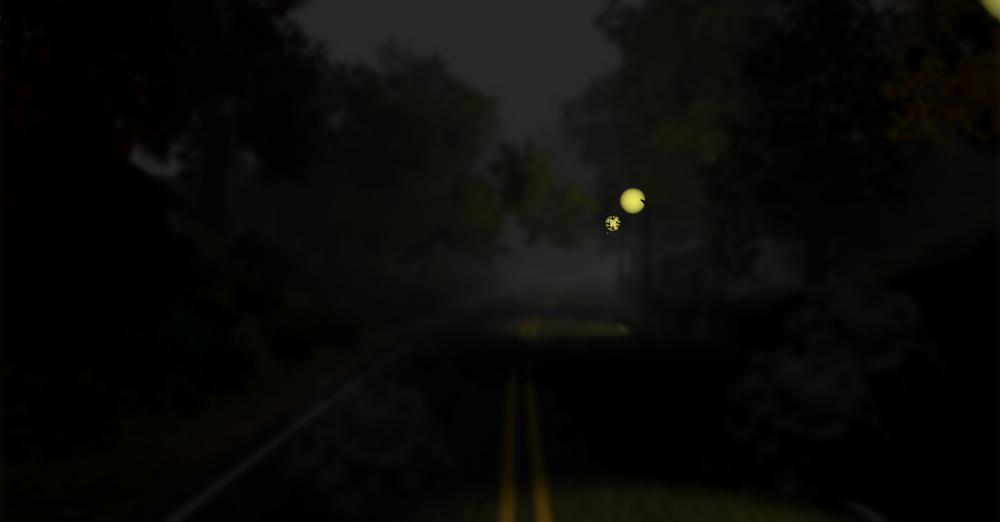 Alone Road background image